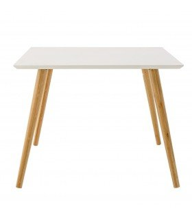Natural and white wooden table Bloomingville