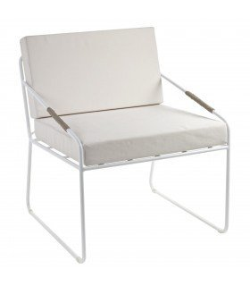 Honoré white chair by Annick Lestrohan