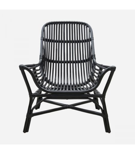 Lounge Chair COLONY Black House Doctor