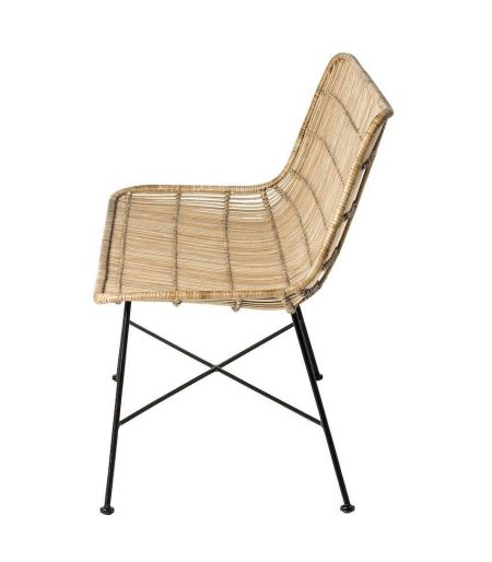 Chaise Kubu naturelle Bloomingville