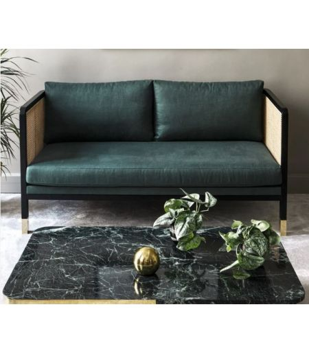 CANNAGE 160 chic grey sofa - Red Edition
