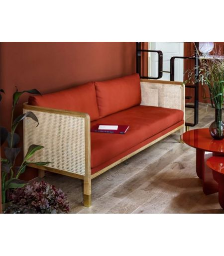 CANNAGE 210 classic sofa - Red Edition