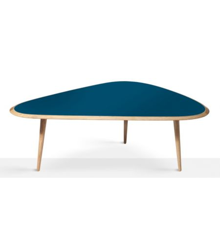 Table basse années 50 L - Red Edition