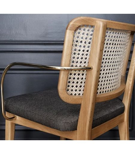 CANNAGE chair with armrests - Red Edition