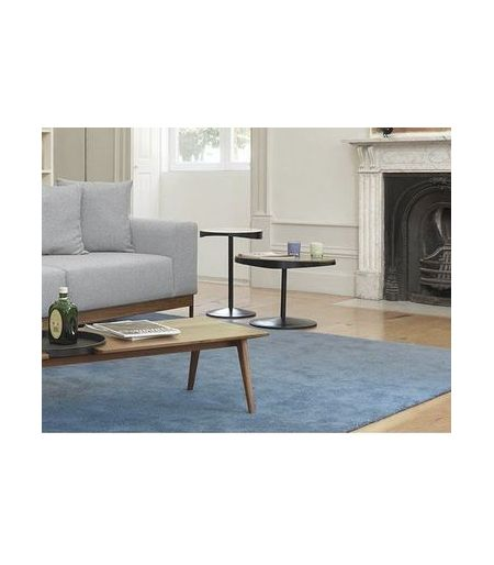 Table basse drop noyer Wewood