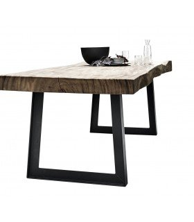 Poplar table Champagne Muubs