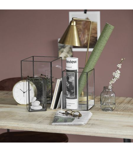 Lampe Game laiton et blanc House Doctor