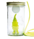 Lamp fairy bell head in the jar