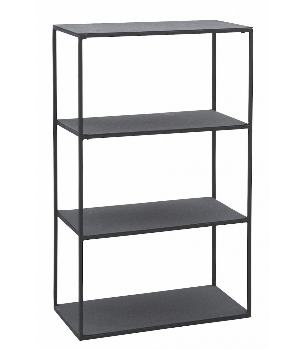 Etag re m tal noir b house doctor - Etagere metal design ...