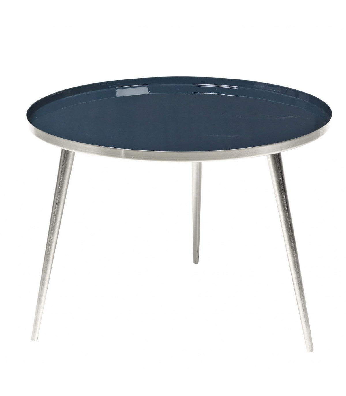 table basse jelva bleu argent broste copenhagen. Black Bedroom Furniture Sets. Home Design Ideas