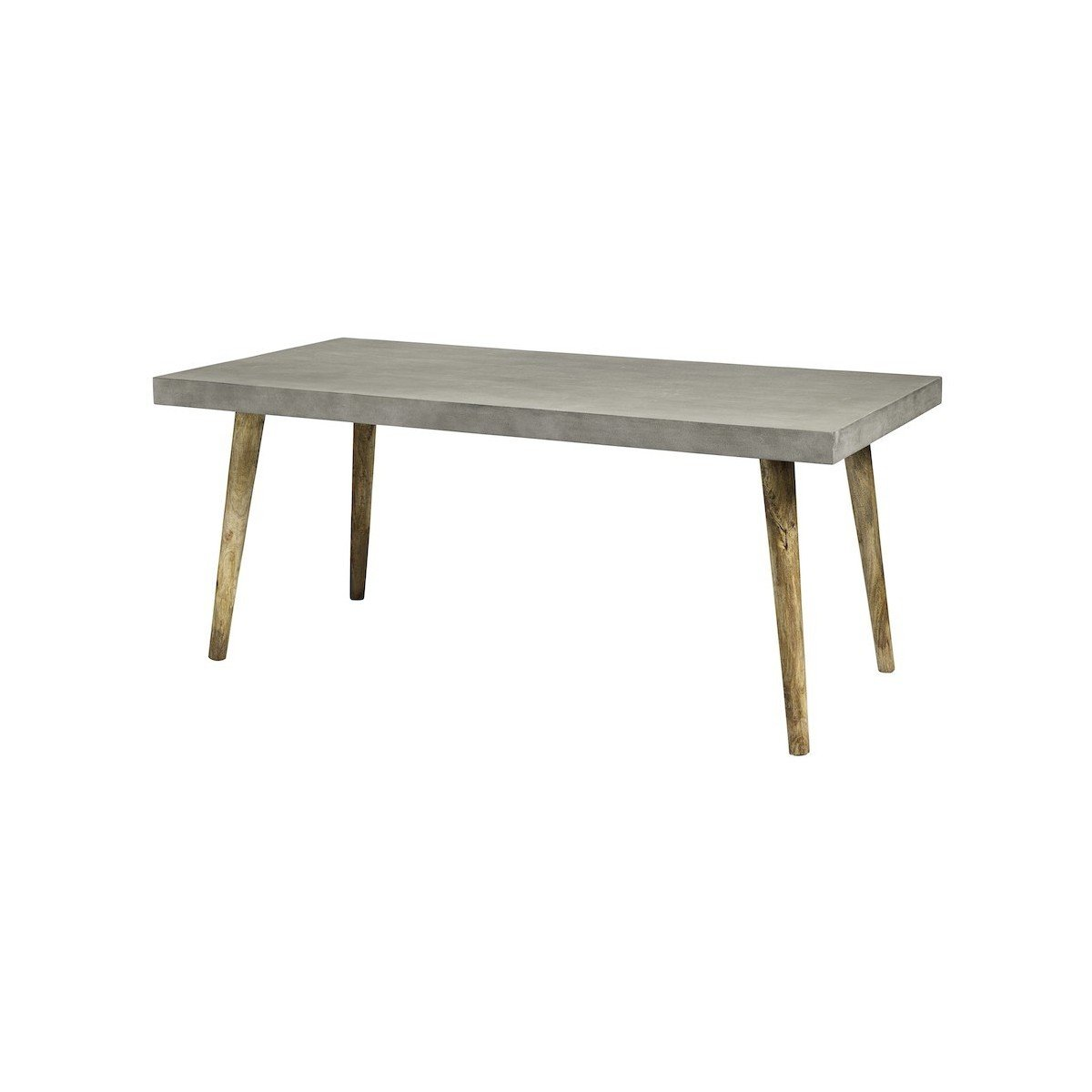 Table Beton Great Table Bton Cir Ultra Lger Pieds Acier With Table