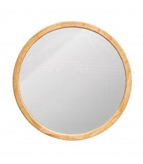 Miroir grand odilon ch nel hart for Grand miroir rond bois