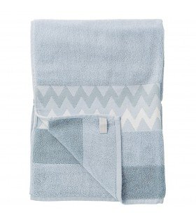 Serviette Terry bleu Bloomingville