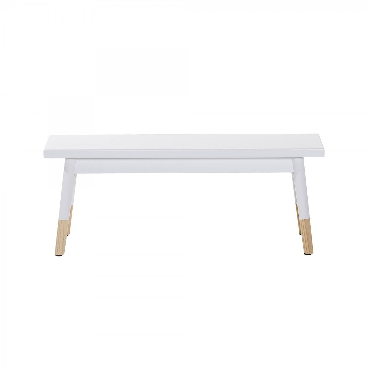 Banc Blanc Et Naturel Bloomingville Mini # Banc De Table Blanc