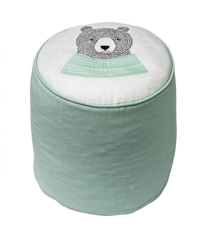 Pouf ours Bloomingville