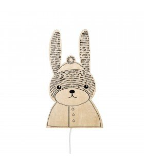 Applique lapin Bloomingville