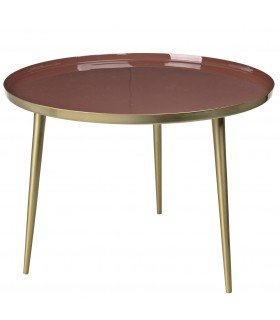 Table Jelva argile rouge Broste Copenhagen
