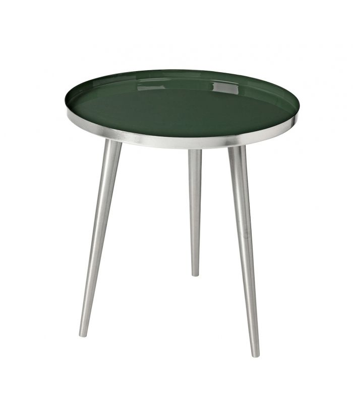 Table Jelva Deep forest & argent Broste Copenhagen