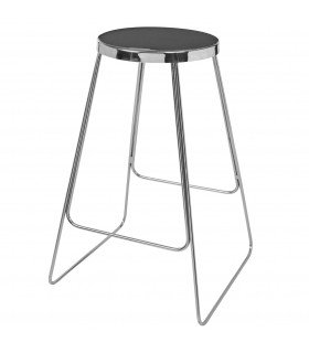 Tabouret Tricia deep forest & argent