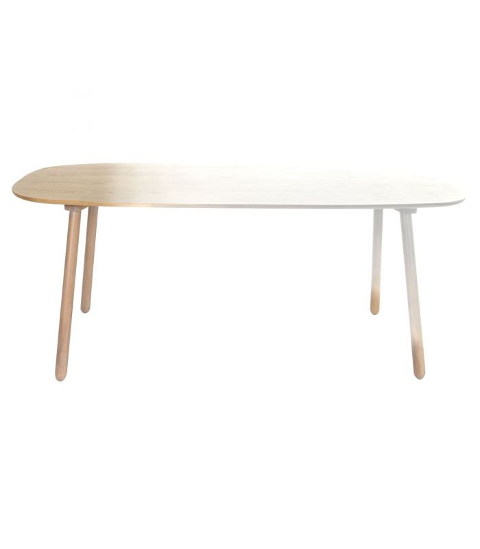Table Ombree blanche Eno studio