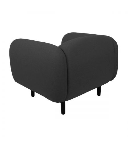 Chair Moïra dark grey