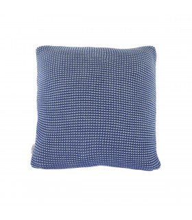 Coussin Roccamare Mix bleu clair & bleu électrique