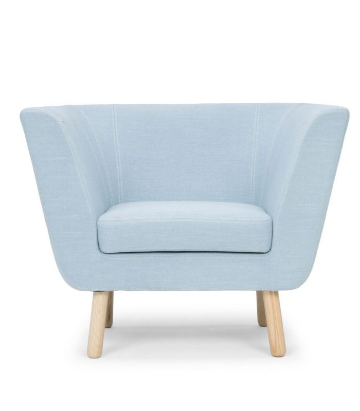 Fauteuil Nest rose Design House Stockholm