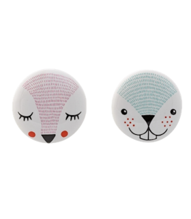 Boutons de meuble animaux lot de 2 Bloomingville