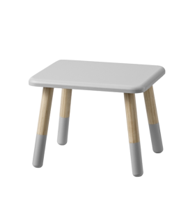 Table grise et naturel Bloomingville mini
