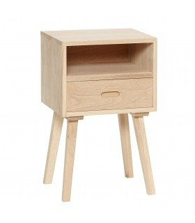 Convenient natural oak 50x35xh70cm Hubsch