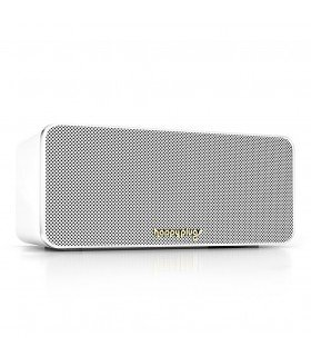 Enceinte mini bluetooth blanche Happy plug