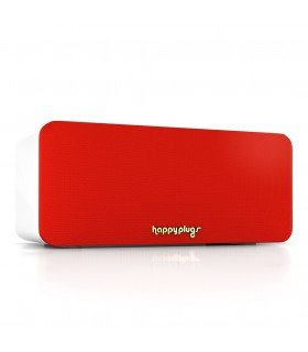 Enceinte mini bluetooth rouge Happy plug