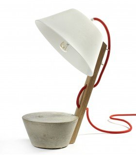 Concrete and wood lamp SERAX