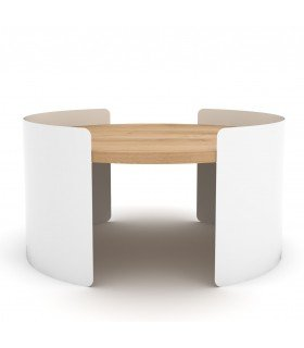 Table Moon S blanche Universo Positivo
